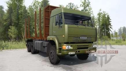 KamAZ-65225 for MudRunner
