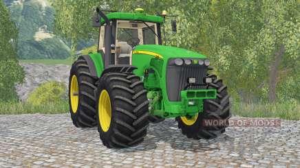 John Deere 8520 pantone greeꞑ for Farming Simulator 2015