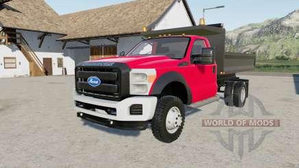 Ford F-550 Super Duty dump truck for Farming Simulator 2017