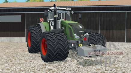 Fendt 828 Vario moveable rear attacher for Farming Simulator 2015