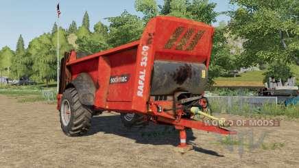 Sodimac Rafal 3300 design selection for Farming Simulator 2017