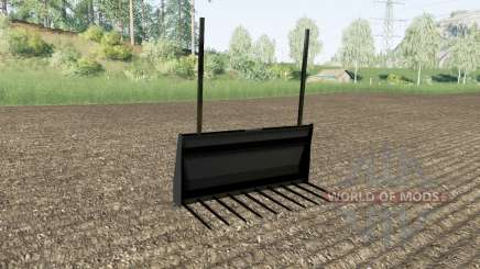 Bale fork Stoll for Farming Simulator 2017