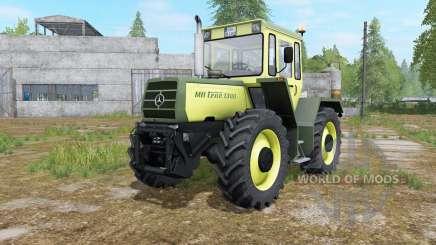 Mercedes-Benz Trac 1000 glade green for Farming Simulator 2017