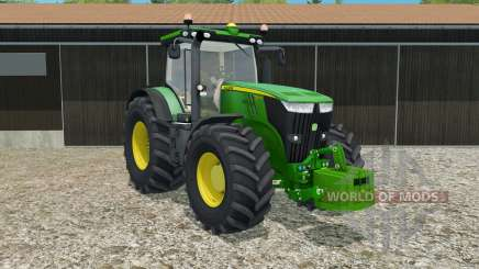 John Deere 7270R with weight for Farming Simulator 2015