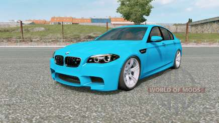 BMW M5 (F10) 2012 v5.0 for Euro Truck Simulator 2