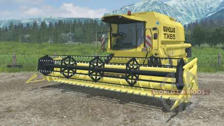 New Holland TX65 dynamic exhaust for Farming Simulator 2013