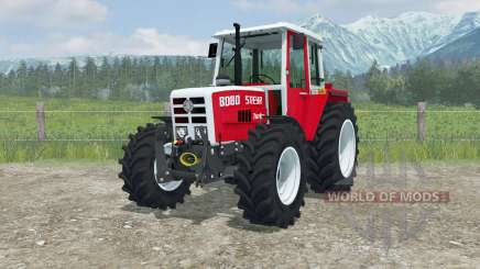 Steyr 8080 Turbo MoreRealistic for Farming Simulator 2013
