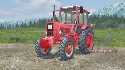 MTZ-82 Belarus animated pedals for Farming Simulator 2013