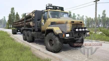 KrAZ-6322 v3.0 for MudRunner