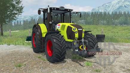 Claas Arion 620 animated interioᶉ for Farming Simulator 2013