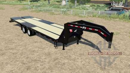 PJ Trailers L3 24ft for Farming Simulator 2017