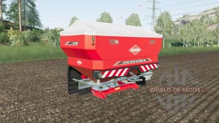 Kuhn Axis 40.2 M-EMC-W has markers for Farming Simulator 2017