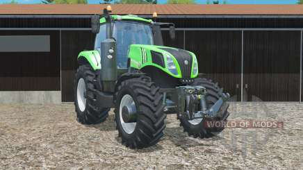 New Holland T8.435 in green for Farming Simulator 2015