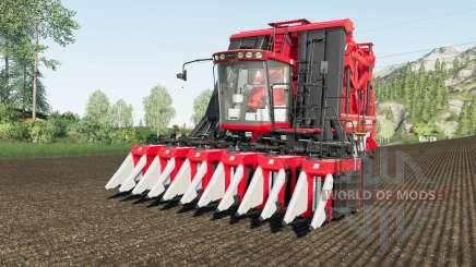 Case IH Module Express 635 working speed 20 km-h for Farming Simulator 2017