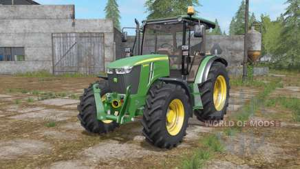 John Deere 5085M configuration wheels for Farming Simulator 2017