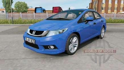 Honda Civic (FB) 2014 for Euro Truck Simulator 2