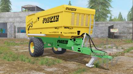 Joskin Trans-Cap 5000-14 golden dream for Farming Simulator 2017