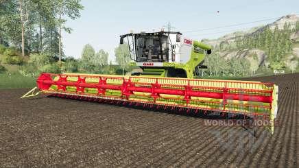 Claas Lexion 780 rio granᶁᶒ for Farming Simulator 2017