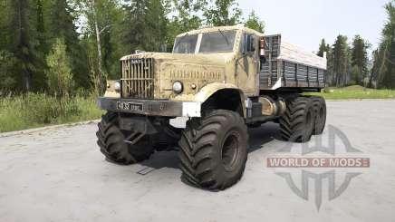 KrAZ-255 for MudRunner