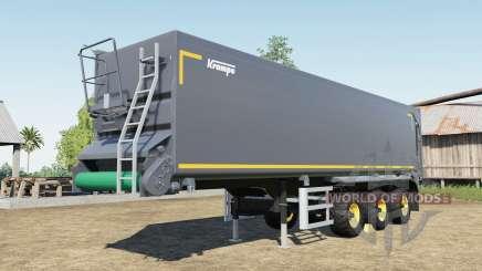 Krampe SB II 30-1070 capacity 150.000 liters for Farming Simulator 2017
