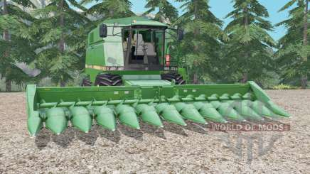 John Deere 2056 medium sea green for Farming Simulator 2015