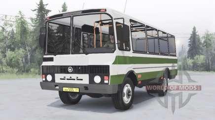 PAZ-3205 v1.2 green for Spin Tires