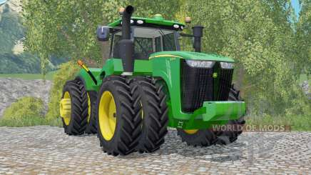 John Deere 9370R row crop for Farming Simulator 2015