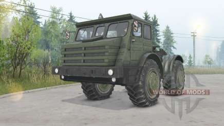 MoAZ-74111 4x4 for Spin Tires