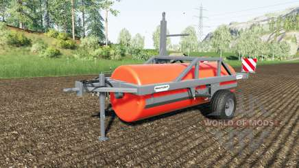 Duvelsdorf Green Roller Vario colour choice for Farming Simulator 2017