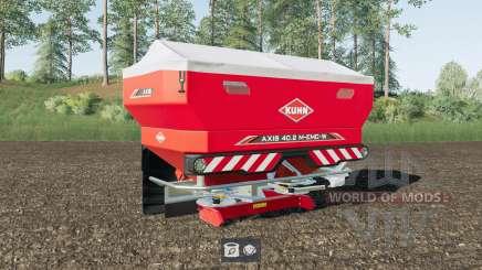 Kuhn Axis 40.2 M-EMC-W Lime Edition for Farming Simulator 2017