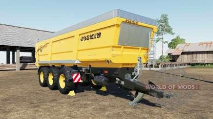 Joskin Trans-Space 8000-27 TRC150 color choice for Farming Simulator 2017