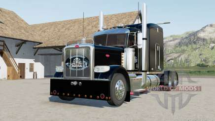 Peterbilt 388 with different skinned for Farming Simulator 2017