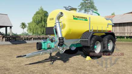 Zunhammer SKE 18.5 PUD with more tire configs for Farming Simulator 2017