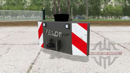 Fendt weight with working lights for Farming Simulator 2015