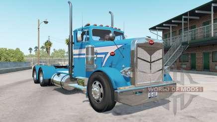 Peterbilt 351 bondi blue for American Truck Simulator