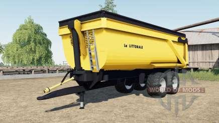 La Littorale C 240 for Farming Simulator 2017