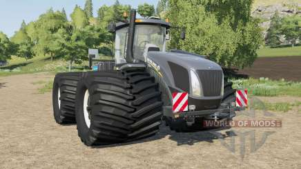 New Holland T9-series wheel options for Farming Simulator 2017