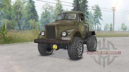 GAZ-63 Gassaver for Spin Tires
