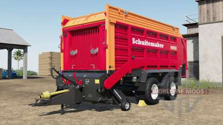 Schuitemaker Rapide 580V increased capacity for Farming Simulator 2017