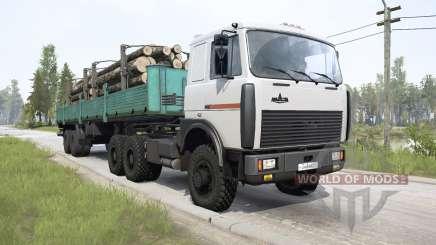 MAZ-64229 6x6 for MudRunner