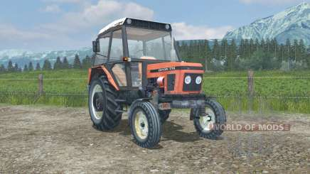 Zetor 7711 MoreRealistic for Farming Simulator 2013