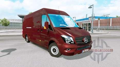 Mercedes-Benz Sprinter for Euro Truck Simulator 2