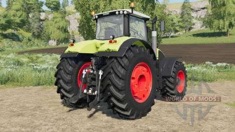 Claas Axion 900 rim color for Farming Simulator 2017