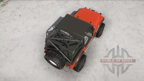 Jeep Wrangler for Spintires MudRunner