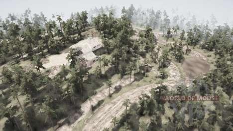 Village Mitrofanovo for Spintires MudRunner