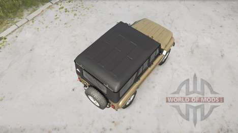 The UAZ-3151 for Spintires MudRunner
