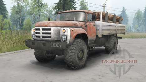 ZIL-133GÂ 4x4 for Spin Tires