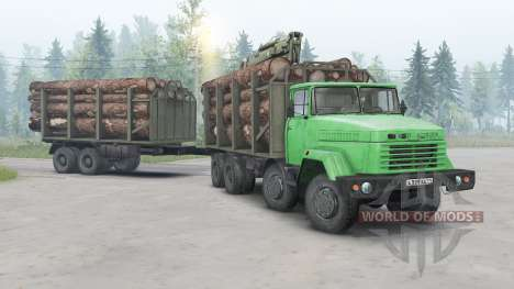 KrAZ-7133 for Spin Tires