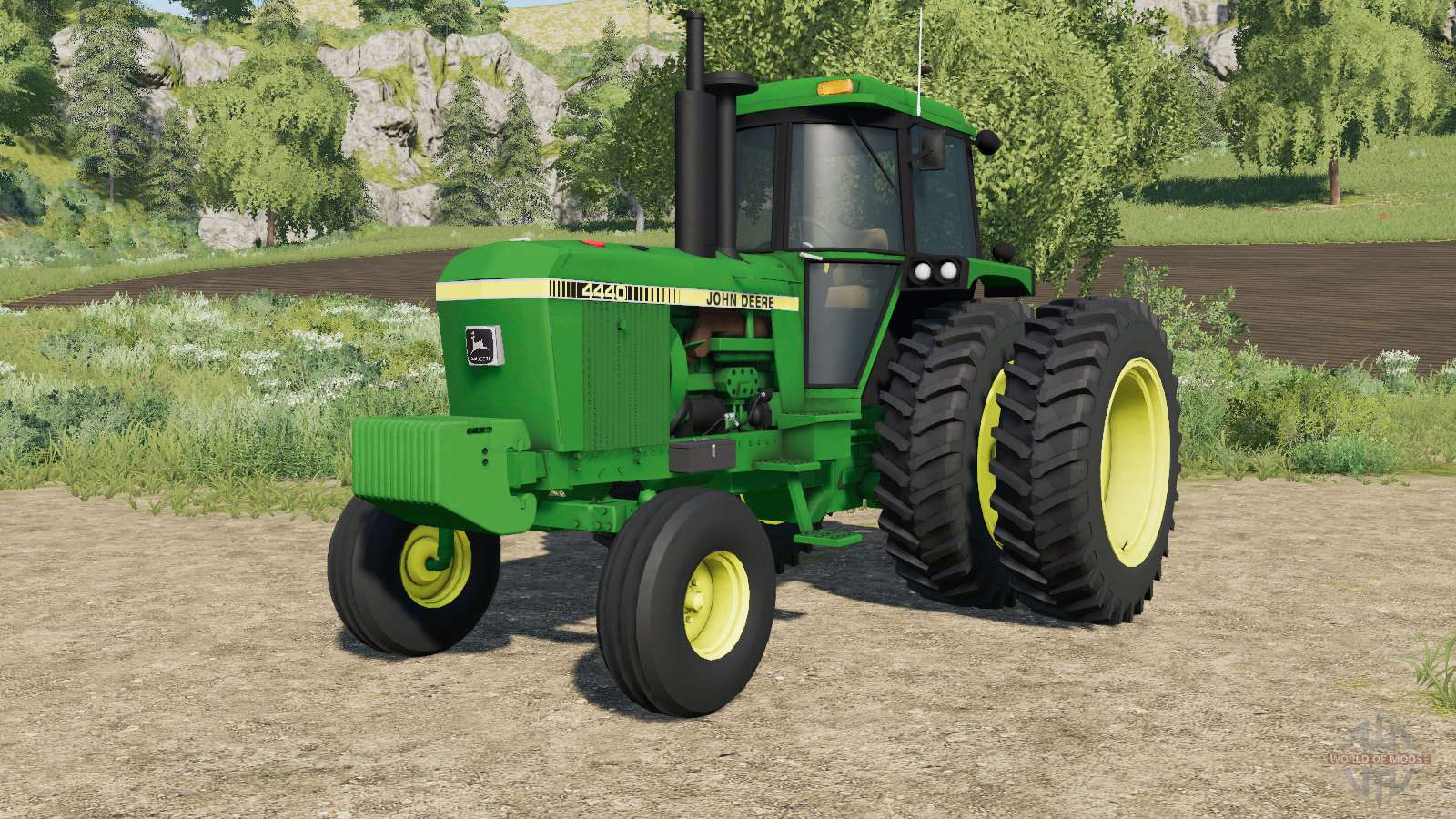 john deere 4440 eight tire options for farming simulator 2017