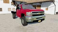 Chevrolet Silverado 2500 HD Flatbed 2010  for Farming Simulator 2017